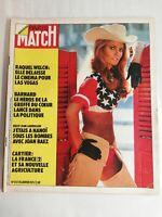 N855 Magazine Paris-Match N°1237 20 janvier 1973 Raquel Welch, Barnard greffe