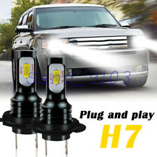 2X H7 CREE LED 6500K White Canbus Low Beam FIT For Ford Transit Custom 2012-18