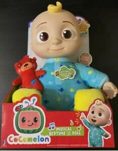 """Cocomelon JJ Doll Bedtime Soft 10"""" Plush Sing Toy Youtube New READY TO SHIP 📦📦"""