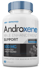 ANDROXENE Male Enhancement - 1 month supply - FREE FAST SHIP - ANDROXENE