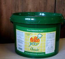 (EUR 7,98 / kg) Tellofix classic Suppe Brühe (5 kg / 250 l) + Gratisbeigabe