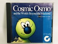 COSMIC OSMO AND THE WORLDS BEYOND THE MACKEREL CYAN MAC CD-ROM VINTAGE RARE