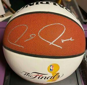Paul Pierce Autographed 2008 NBA Finals Basketball Boston Celtics