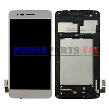 LCD Screen Touch Digitizer + Frame For Silver LG M210 MS210 Aristo LV3 K8 2017
