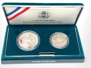 US LIBERTY 2 COIN PROOF SET 1986