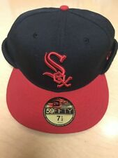 New Era 59 Fifty Chicago White Sox MLB Dog Ear Fitted Cap 7 1/2