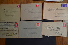 france occupation alsace lot 6 lettres 1940/45