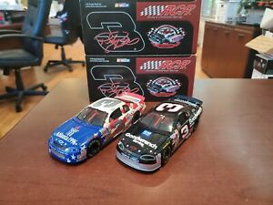 Lot of 2 Dale Earnhardt #3 '96 Olympics/ Goodwrench RCR Museum 1:32 Diecast MIB