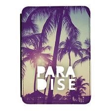 Paraíso Vacaciones Palma Árboles Kindle Paperwhite Toque PU Funda Libro de Piel