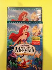 The Little Mermaid (DVD,2006,2-Disc,Platinum Edition)NEW Authentic Buena Vista