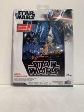 Dimensions Disney Star Wars Counted Cross Stitch Kit Luke & Princess Leia NEW