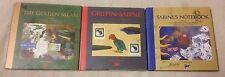 GRIFFIN & SABINE Trilogy 3 Book Lot HCDJ Nick Bantock NOTEBOOK Golden Mean + VGC