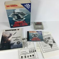 HARPOON 2 II ADMIRAL'S EDITION BIG BOX PC GAME CD AND FLOPPY VERSIONS