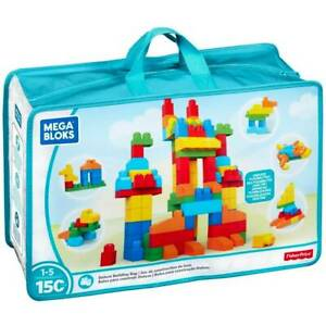 Mega Bloks 150 Steine XXL Bausteinebeutel Bauklötze Fisher-Price 1-5 Jahre Neu