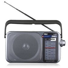 SCA RADIO QFX-24  AM / FM + FIXED FREQUENCY SCA RECEIVER
