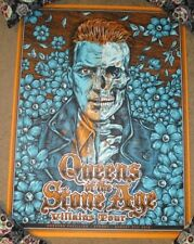 Queens Of The Stone Age concert gig poster Sydney 8-31-18 2018 Ben Brown