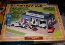 Plasticville Ho Scale Auto Body Repair Shop #2915 Custom Assembled