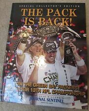 Green Bay Packers Super Bowl Champs 2011 Book The Pack is Back (Hardcover)