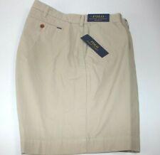 7a1f14df0 Nuevo Con Etiquetas $89 Ralph Lauren Talla 40 para hombre frente plano  color Caqui Pantalón corto chino calce recto