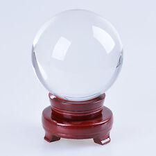 "LONGWIN 100mm 3.94"" D Quartz Crystal Ball Sphere Scrying Ball Photo Props"