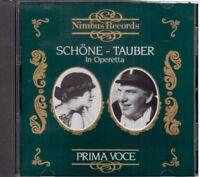 Lotte Schone & Richard Tauber : IN Operetta (Première Voix) - CD