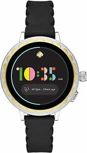 Kate Spade New York Women's Gen 4 Scallop 2 Heart Rate Touchscreen Smartwatch WR