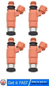 4x New Flow Matched Fuel Injectors CDH210 MD319791 For Mitsubishi Suzuki Dodge