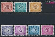 Italie p88-p94 neuf 1955 Dessin numéros (9045795