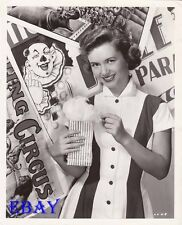 Debbie Reynolds w/cotton candy VINTAGE Photo Mr. Imperium