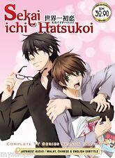 DVD Sekai Ichi Hatsukoi Season 1+2 Episode 1-24 end + MOVIE Boys Love Anime