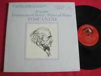 VG++ CLASSICAL LP - RESPIGHI TOSCANINI FOUNTAINS OF ROME RCA LME-2409 STEREO SD
