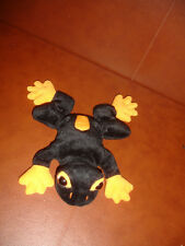 "NEW 6 1/2"" VINTAGE 1997 BEANIE BOPPERS  TREE FROG STUFFED ANIMAL PLUSH"