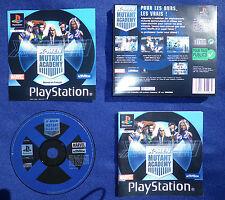 JEU Sony PLAYSTATION PS1 PS2 : X-MEN MUTANT ACADEMY (complet, envoi suivi)