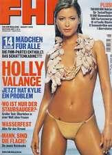 FHM 8/2002 Eva Habermann, Johnny Cash, Willem Dafor, Holly Valance, Shi Xing-Tao
