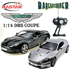 RC REMOTE CONTROL DIECAST ASTON MARTIN DBS COUPE 1:14 LICENSED MODEL CAR TOY BLK