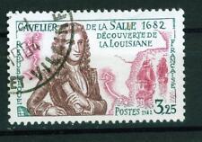 France Robert De La Salle Louisiane discovery 300 Ann 1982 stamp