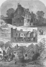 OLD KENSINGTON. 1. Manor House, 2. Old Tavern, 3. Little Holland House c1880