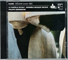 FAURE REQUIEM Agnes Mellon Peter Kooy Philippe HERREWEGHE CD MESSAGER Messe 1988
