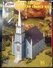 19th Century American Church Atlas HO Scale Plastic Model Kit