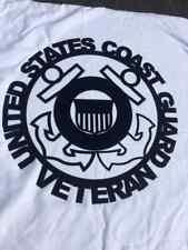 United States Coast Gaurd Veteran 16� Round Sign