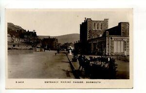WALES - RPPC ENTRANCE MARINE PARADE BARMOUTH