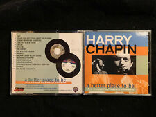 HARRY CHAPIN ~ A BETTER PLACE TO BE  2002 US 16 TRK PROMO MUSIC PUBLISHING CD M-