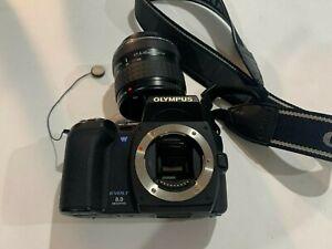Olympus EVOLT E-500 8.0MP Digital SLR Camera - Black (Kit w/ 17.5-45mm Lens)