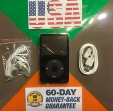Apple iPod classic 5th Generation Enhanced Black (80 Gb) New Battery& Faceplate