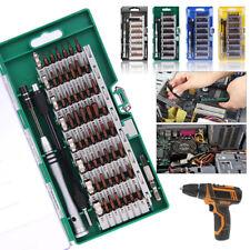 60 In 1 Precision Torx Screwdriver Bit Set Hex Star Tweezer Repair Mini Tool Kit