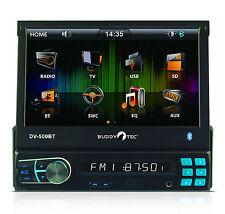 "7"" TFT Monitor RDS-Autoradio USB SD/MMC Bluetooth Fernbedienung 4 x 50 Watt NEU"