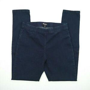 Threadz - High Rise Elastic Wast Skinny Stretch Denim Jeans Women's Size M