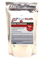 500g (1.1 lb) MSM Pure Methylsulfonylmethane Powder Pain Relief Joint Arthritis