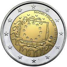 FINLANDIA 2 E. 2015 -  30 AÑOS DE LA BANDERA EUROPEA - SIN CIRCULAR