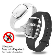 Mosquito Repellent Bracelet Ultrasonic Insect Pest Repeller Wristband UK